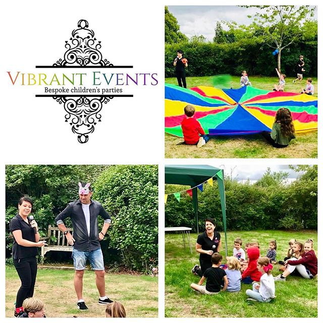 Children's entertainers in Kent. Vibrant Events