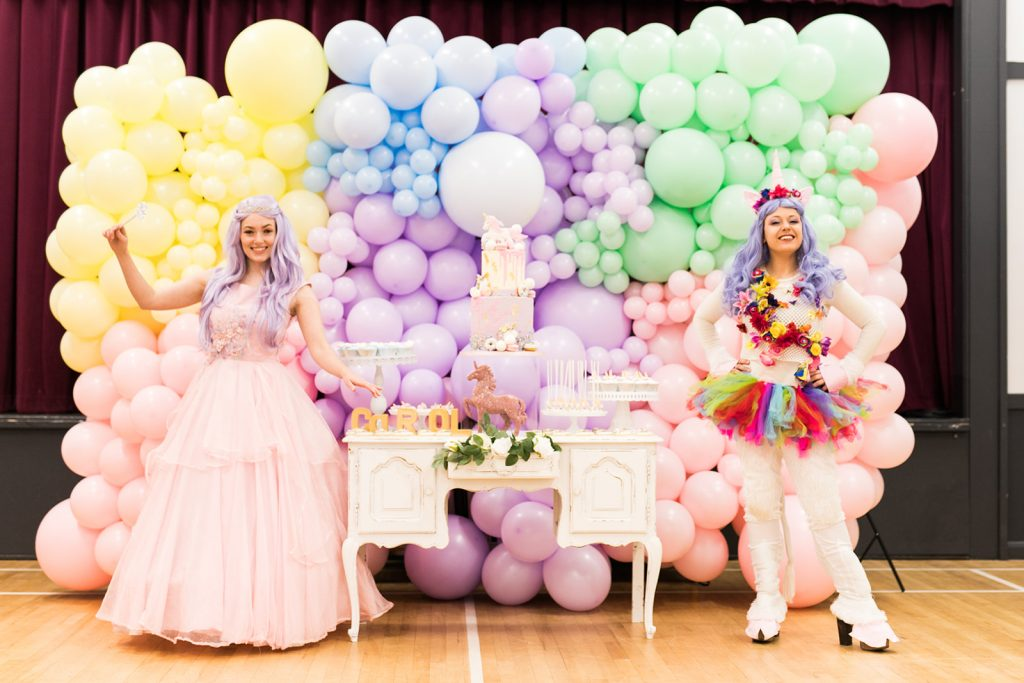 Unicorn Birthday Party - Vibrant Events