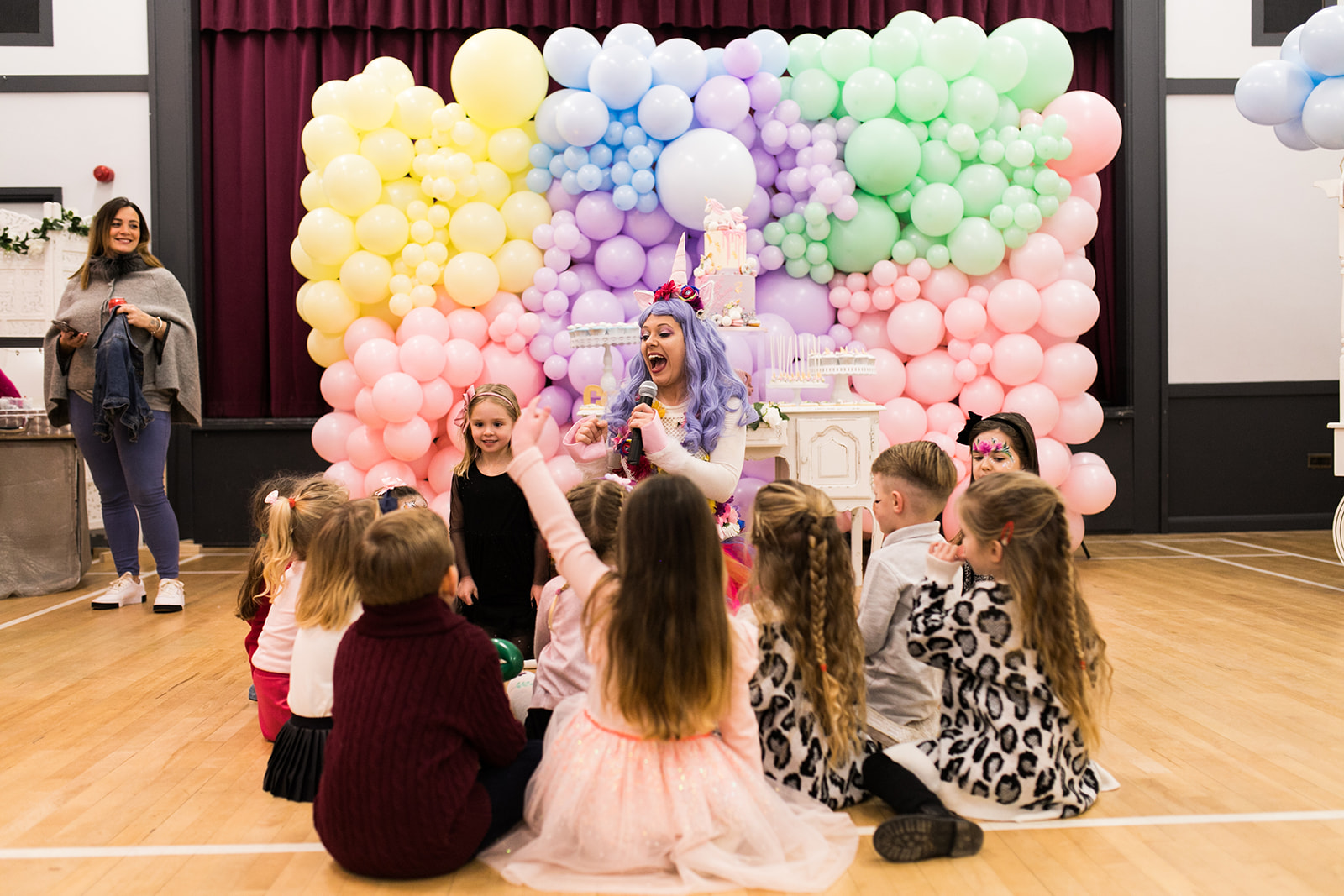 Unicorn Birthday Party Vibrant Events