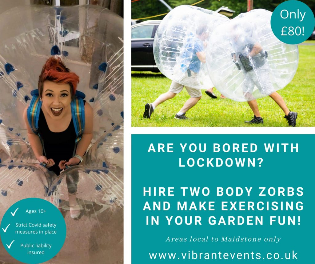 Bubble Football Hire Maidstone Vibrant Events